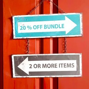 Get 20% off  if you bundle any  2 or more items